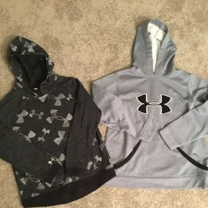 2 Under Armour Hoodies
